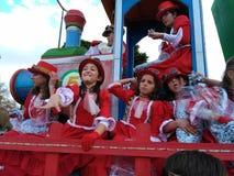 Three Kings Parade in Seville, Spain stock photos