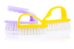 Three kitchen brushes  Royalty Free Stock Photos