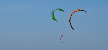 Three kites Royalty Free Stock Photos