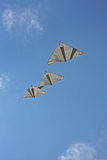 Flying Kites Stock Images