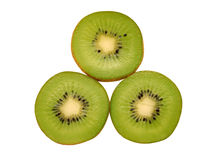 Three kiwi Stock Photo