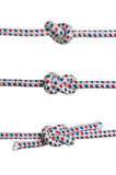 Three knots Stock Image