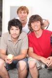 Three lad Stock Photo