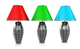 Three Lamps Royalty Free Stock Photo