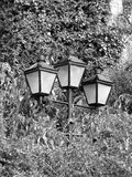 Three Lamps royalty free stock photos