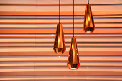Three lamps Royalty Free Stock Image