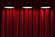 Three lamps Stock Photo
