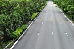 Three Lanes Motor Expressway Stock Photos