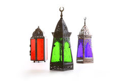 Three Lantern royalty free stock photo