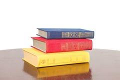 Three large art books Stock Photography