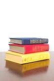 Three large art books Royalty Free Stock Photography