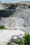 Three Layers of Cliffs at Marble Mine Stock Images