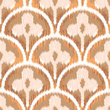 Three Leaf Clover Ikat Royalty Free Stock Image