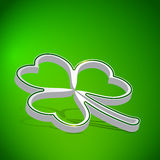 Three leaf clover Royalty Free Stock Photos