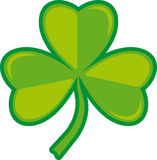 Three -leafs clover. Vector Illustration of a three leaf clover Stock Images