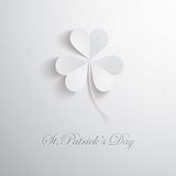 Three leaves clover Stock Images