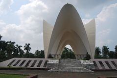 Three leder Mazar`teen netar mazar. The Mausoleum of three leaders Bengali: তিন নেতার মাজার is a significant architectural ... Teen Royalty Free Stock Photos