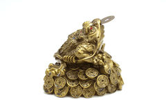 Three-legged Chinese money toad_01 Royalty Free Stock Photography