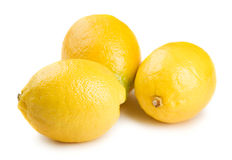Three lemons Stock Photography