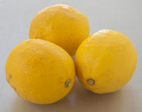 Three lemons Royalty Free Stock Images