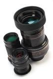Three lenses Stock Image