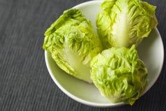 Three lettuce Royalty Free Stock Image