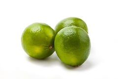 Three Limes Royalty Free Stock Images