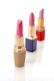 Three lipsticks royalty free stock image