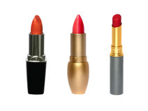 Three lipsticks set Stock Photography