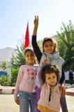 Three little arabic girls