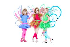 Three little girls Royalty Free Stock Photos