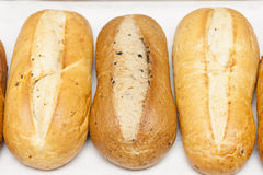 Three loaf of bread Royalty Free Stock Photos