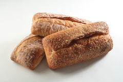 Three Loaves of Bread Royalty Free Stock Photography