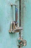 Three locks Royalty Free Stock Images