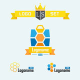 Three  logo on the protection of luggage Royalty Free Stock Images