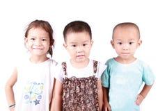 Three lovely children Stock Image
