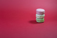 Three Macarons Royalty Free Stock Images