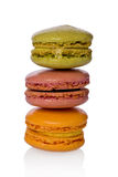 Three Macaroons Royalty Free Stock Image