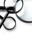 Three magnifiers Stock Image