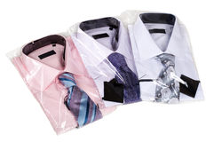 Three man's shirts Royalty Free Stock Photography