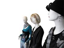 Three mannequin's Royalty Free Stock Image