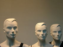 Three Mannequins Royalty Free Stock Image