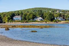 Three Mansions on Maine Coast. Massive mansions on Maine coast Stock Image