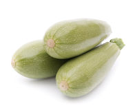 Three marrows isolated Royalty Free Stock Images