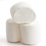 Three marshmallows stacked Royalty Free Stock Image