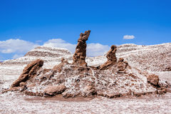 The Three Marys in the Valle de la Luna Stock Photo