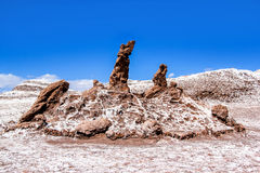 The Three Marys in the Valle de la Luna Royalty Free Stock Photos