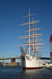 Three masted Barque Viking. Gothenburg Sweden. Royalty Free Stock Images