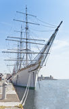 Three masted ship Stock Images