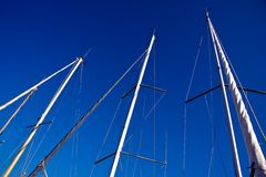 Three masts Stock Photos